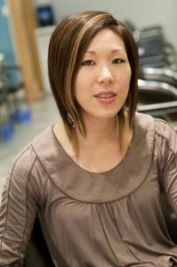 main street hair stylist Winnie Sun